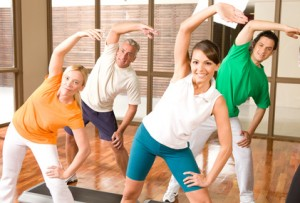 Energy training in the gym, Fitness, Dehnung, Krafttraining, Bewegung, Turnen