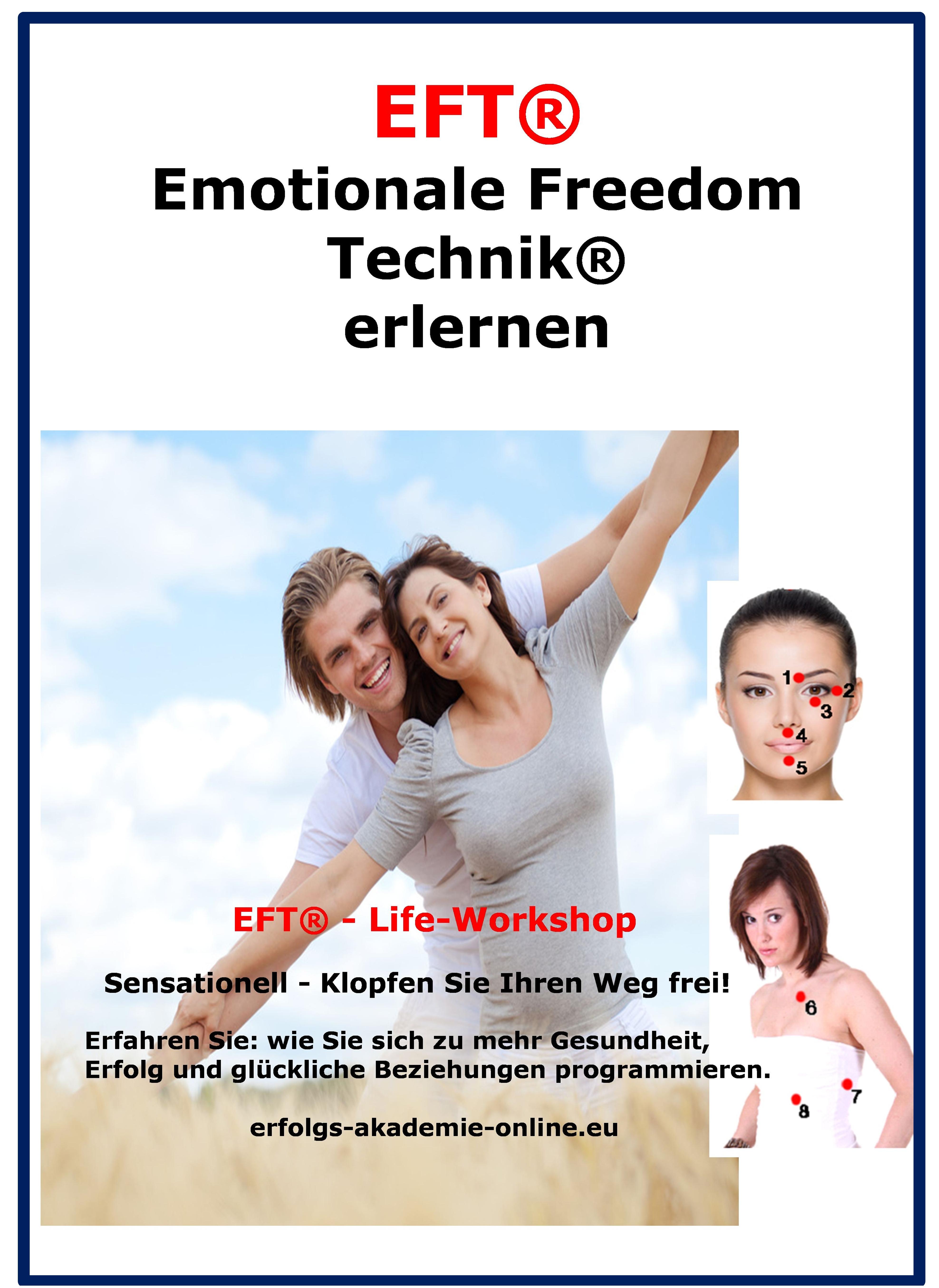 Entfesseln Sie die volle Lebensenergie. EFT Workshop