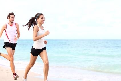 laufen, jogging, bewegung, sprinten, gehen, fit sein