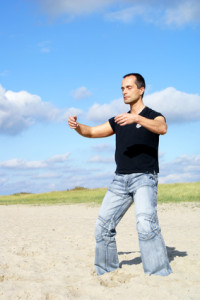 Qi Gong, taichi, meditative Bewegungsform, Fitness und Entspannung, ruhiger Geist